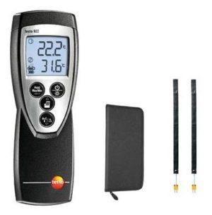 Testo 922 sett for måling av differensialtemperatur