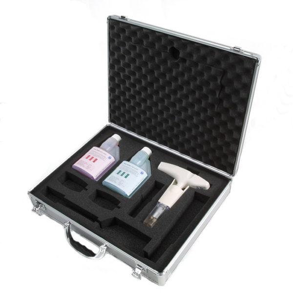 pH-Målersett med koffert og buffer 4 og 7 - Testo 205