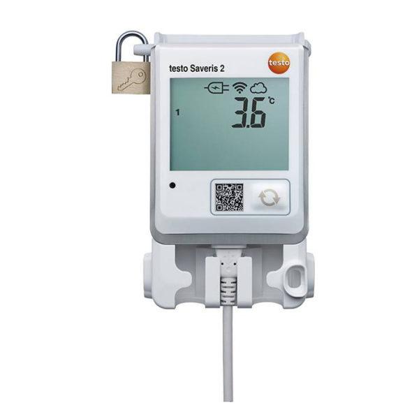 Trådløs Temperaturdatalogger med display og NTC-føler - Testo Saveris 2 T1