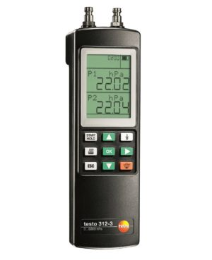 Robust manometer for vann- og gassinstallatører - Testo 312-3