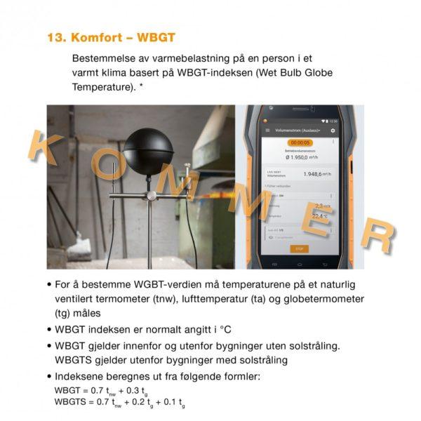 13. Komfort - WGBT