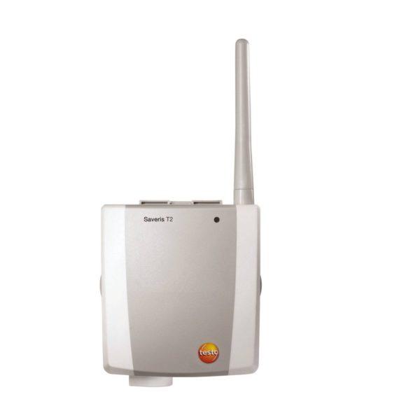 2-kanal NTC-radioføler med dørkontakt & 1 ekstern inngang - Saveris T2