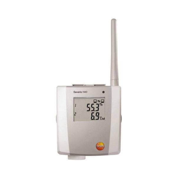 2-kanal temperatur- & fuktradioføler med display - Saveris H4 D