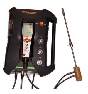 testo 350-Martime-V2 Analysator DNV-GL godkjent for bruk på skip.