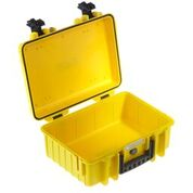 Robust transportkoffert m. pre-kuttet skum (385x265x165)