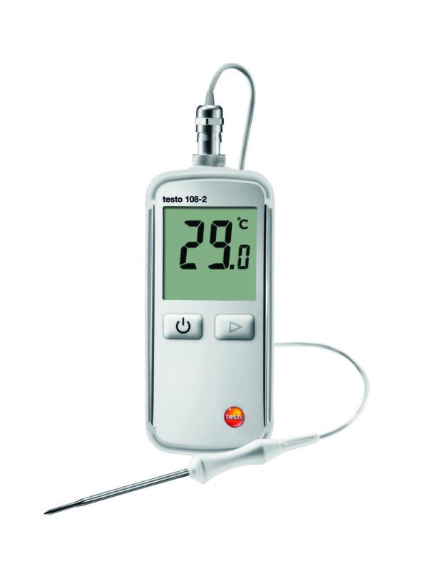 Robust Temperaturmåler med innstikkføler - Testo 108-2