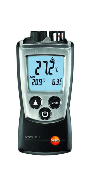 IR- og Lufttemperaturmåler i lommeformat - Testo 810