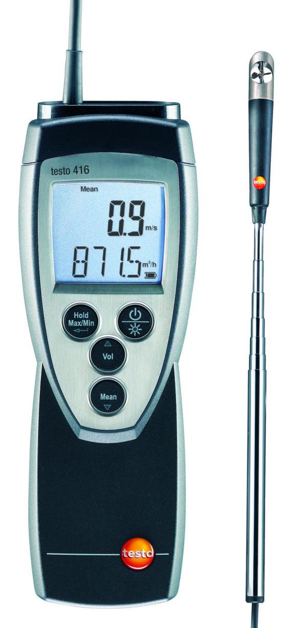 Turbinanemometer - Testo 416
