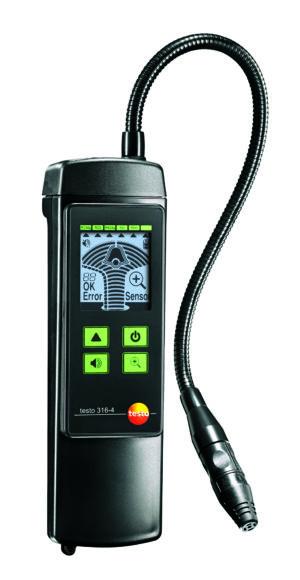 Gasslekkasjedetektor for kjølemedier - Testo 316-4