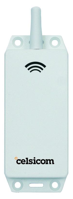 Trådløs temp-/fuktlogger med intern sensor Celsicom
