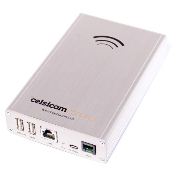 Celsicom Connect tilkoblinger