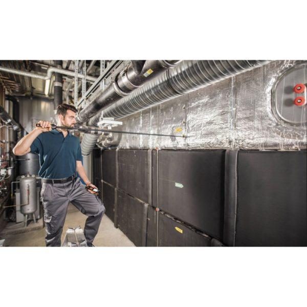 Digital hetetrådsføler i ventilasjonskanal