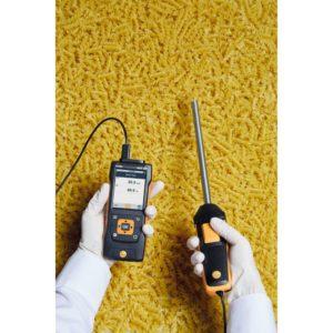 Digital robust fukt- og temperaturføler i bruk ved fuktighetsmåling