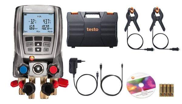 Digitalt kjøleanalysator sett – Testo 570-2