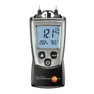 Fuktighetsmåler for bygningsmaterialer og treslag - Testo 606-2