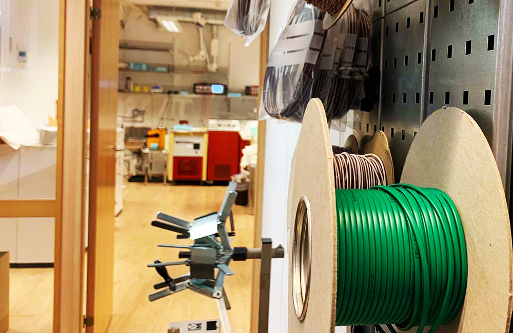 Bilde av lab og verksted
