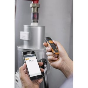 IR-Termometer - Testo 805i i bruk