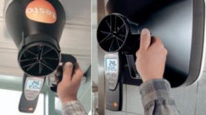 Måletrakter for ventilasjonsmåling