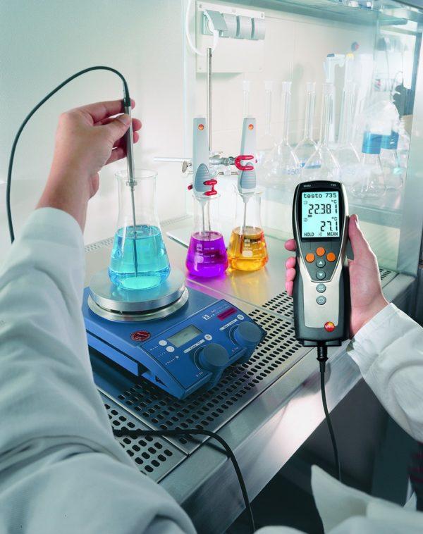 Måling av temperatur væsker