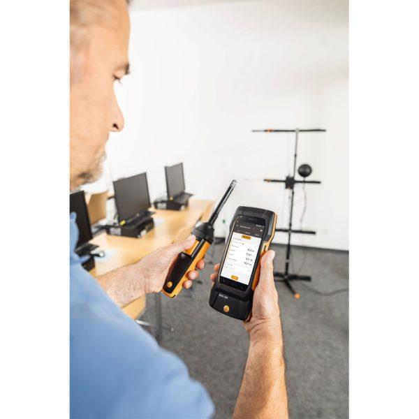 Måling med Hygrometer Testo 400