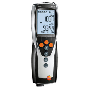 Multifunksjonsinstrument inkludert PC-program – Testo 435-4