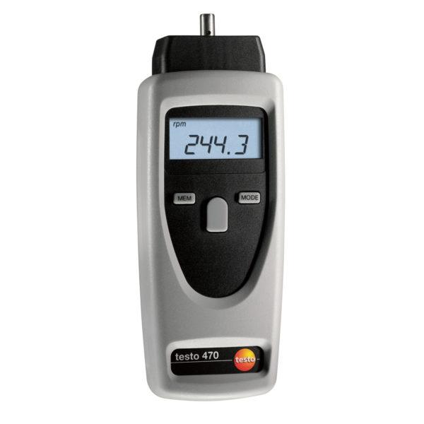 Optisk og Mekanisk Takometer – Testo 470