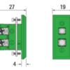 Produkttegning termoelement type k