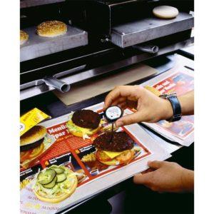Rask måling av temperatur i matvarer