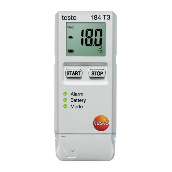 Temperaturdatalogger for kontinuerlig måling - Testo 184 T3