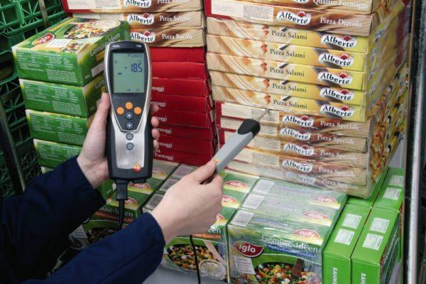 Temperaturmålerinstrument - Testo 735-1 i bruk