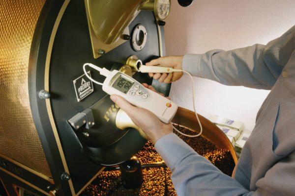 Temperaturmåling i kaffe Testo 926