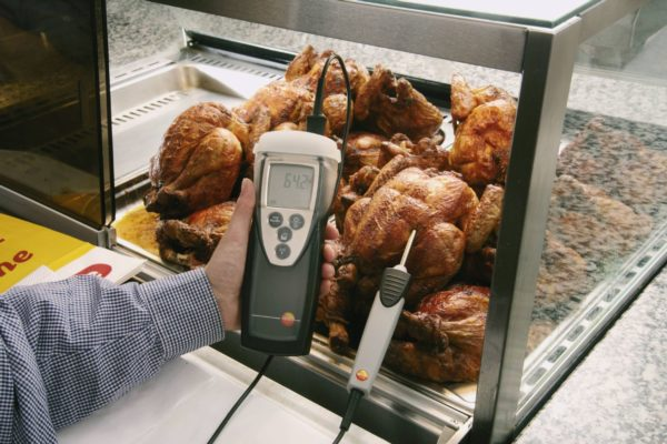 Temperaturmåling med Testo 925