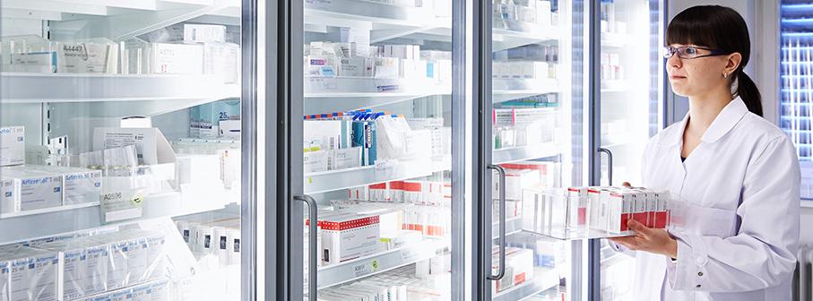 Temperaturovervåking i apotek