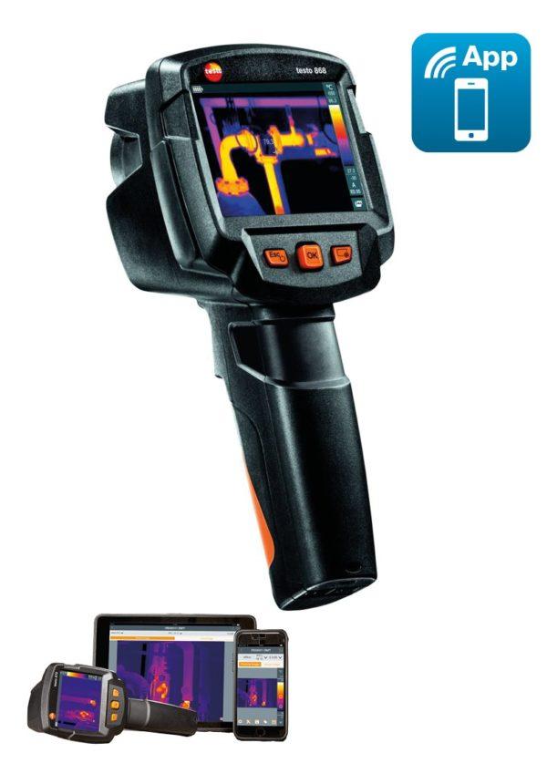Termokamera Testo 868 med app