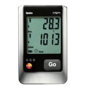 5-kanals Temperaturlogger med aboslutt trykk internføler - Testo 176 P1