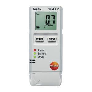 Testo 184 G1 Logger temperatur, fuktighet og slag/støt