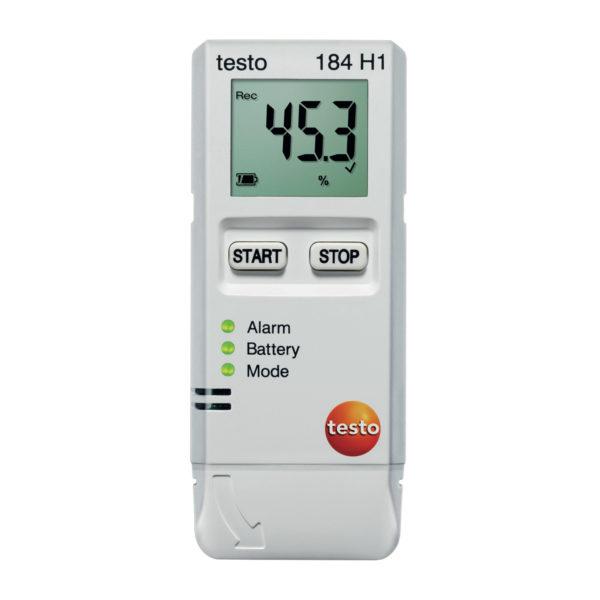 Testo 184 H1 logger av temperatur og fuktighet for kontinuerlig bruk