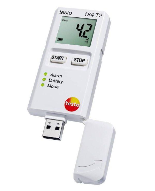 Testo 184 T2 USB-tilkobling