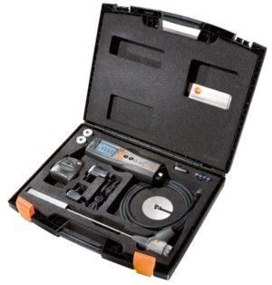 Testo 340 sett med koffert og føler (avtal oppsett)