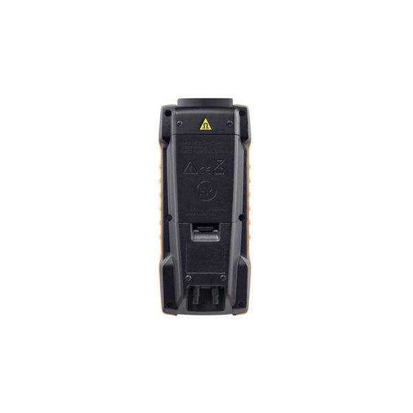 Testo 440 dP bakside med batterilukke