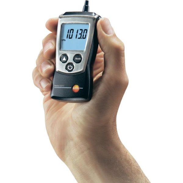 Testo 511 er kompakt og robust