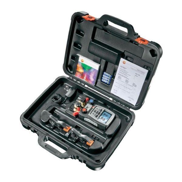 Testo 570 koffert med plass for tilbehør