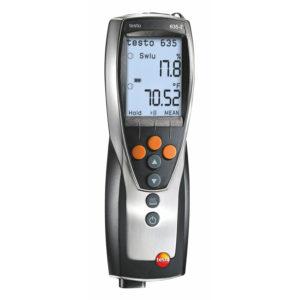 Fuktighetsføler for luftfuktighet og material fukt, duggpunkt - Testo 635-2