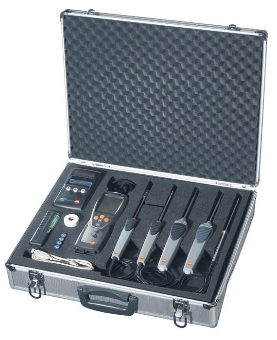 Testo 735 i koffert med tilbehør
