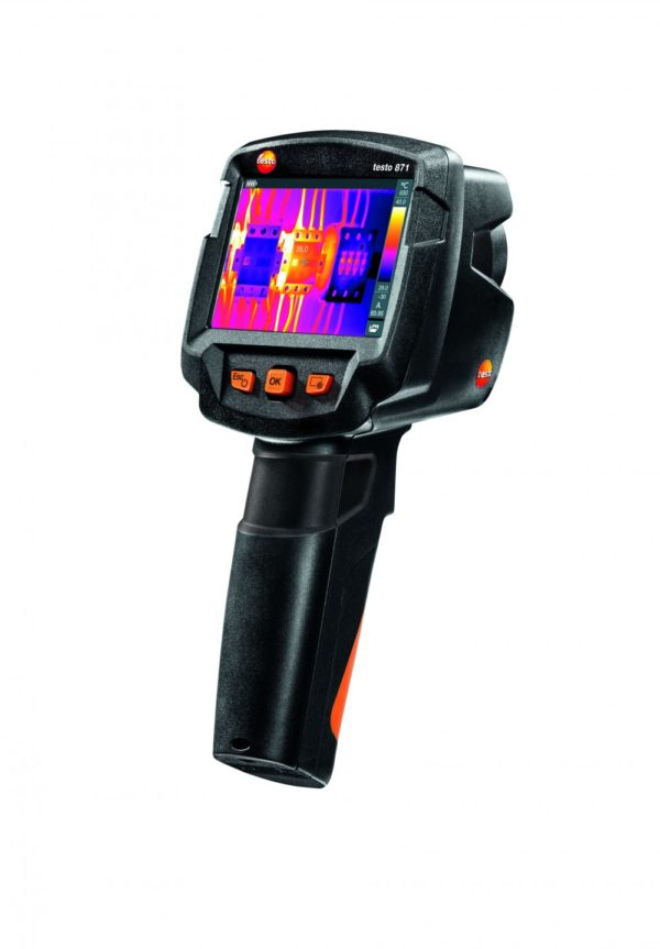 Testo 871 - termografi av elektrisk sikring