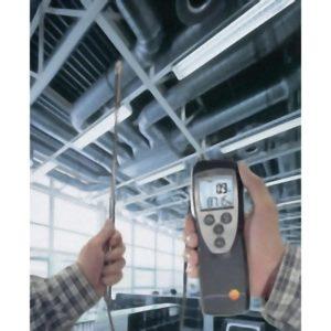 Turbinanemometer - Testo 416 i bruk