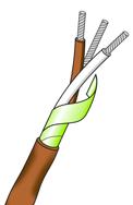 Termoelementtråd type T