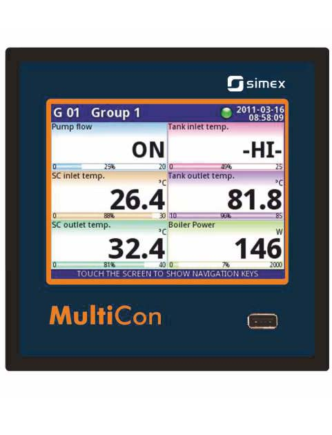 Multilog CMC Datalogger/Regulator/Programgiver