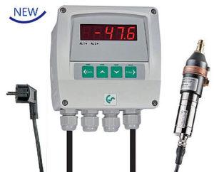 DS 52 Duggpunktsmåler for fast montering -80/+20°C