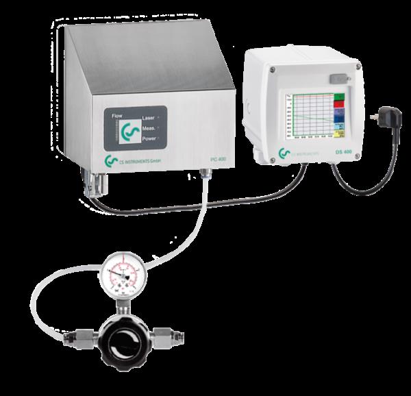 Partikkelteller PC 400 - stasjonær løsning i henhold til ISO 8573